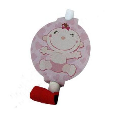 Набор розовых язычков-гудков - Все для праздника