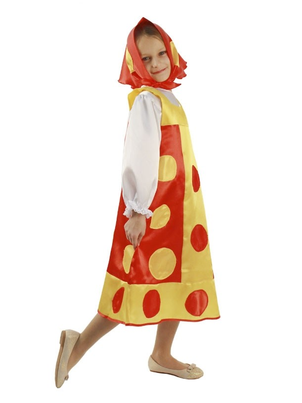 Детский костюм Матрешки (30) детский костюм озорного клоуна 34