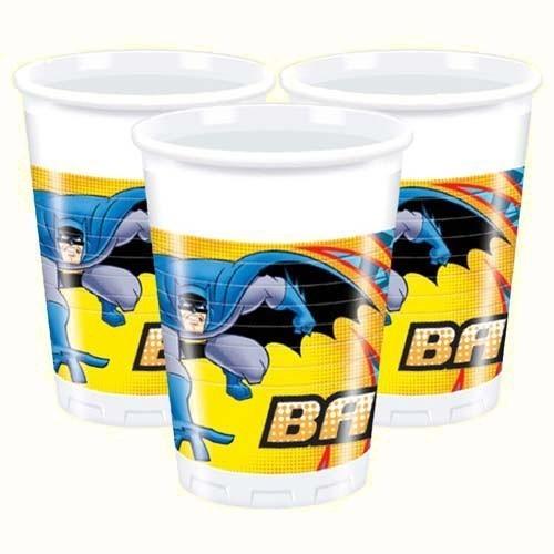 Пластиковые стаканы Бэтмен (UNI) стаканы мятые