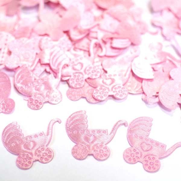 Розовое конфети Коляска - Все для праздника