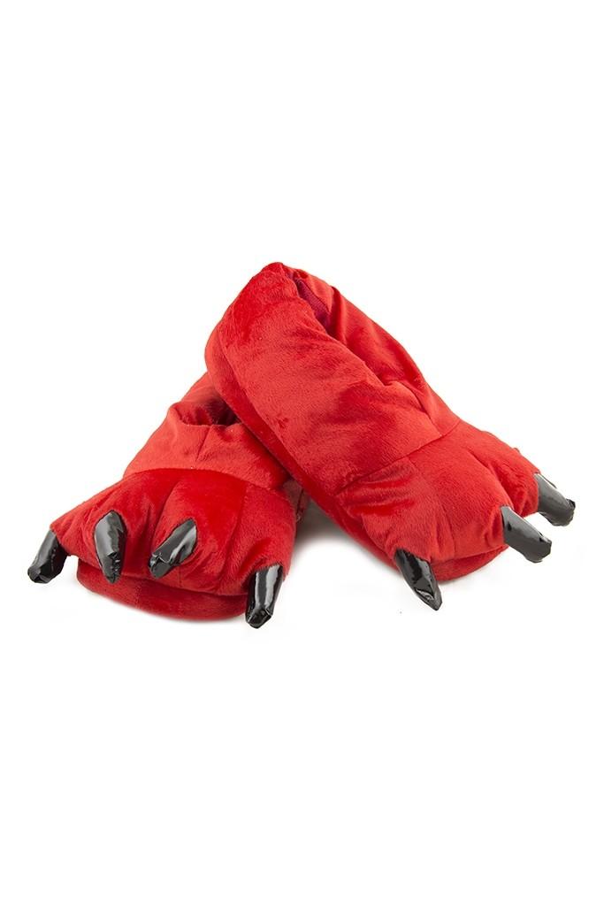 Красные мягкие лапы - Обувь для костюмов