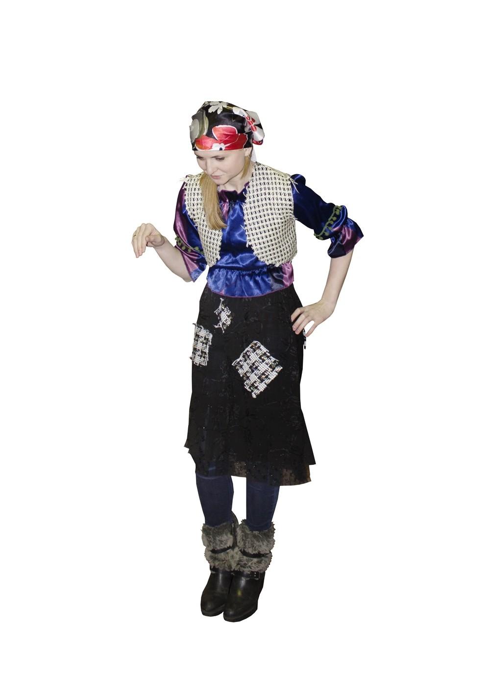 Детский костюм Бабы Яги из сказки (34) - Сказочные герои, р.34