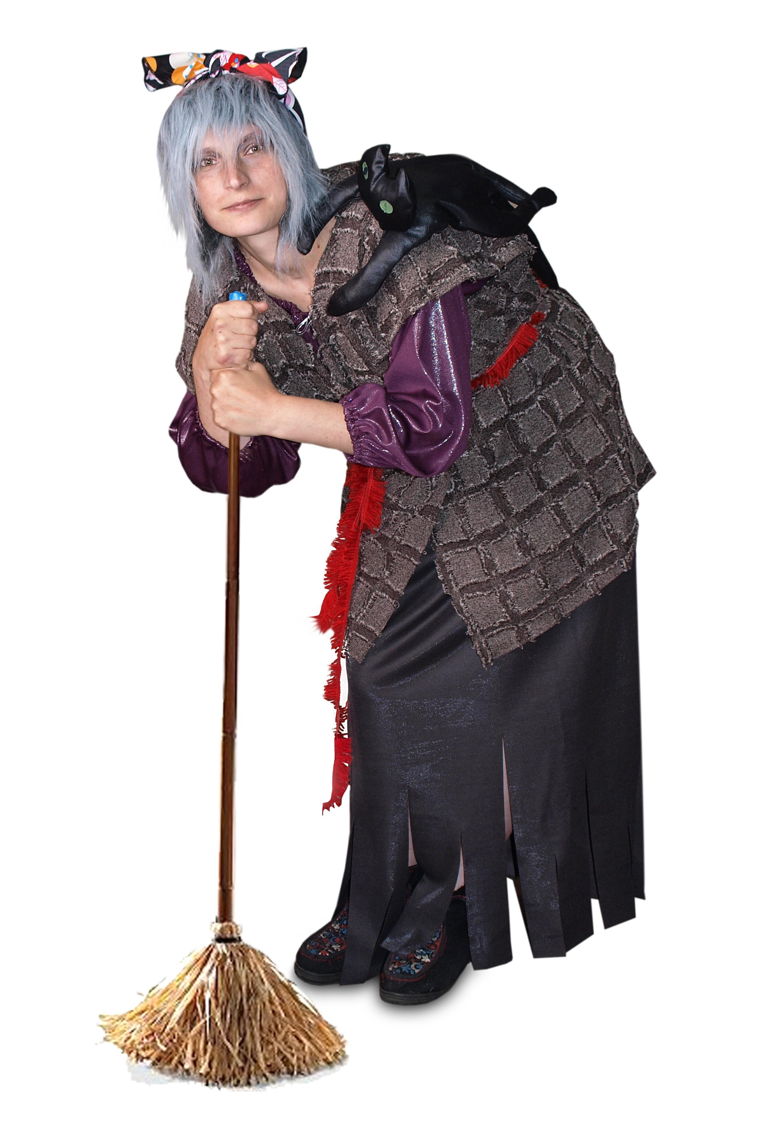 Карнавальный костюм Бабы Яги (48) - Сказочные герои, р.48