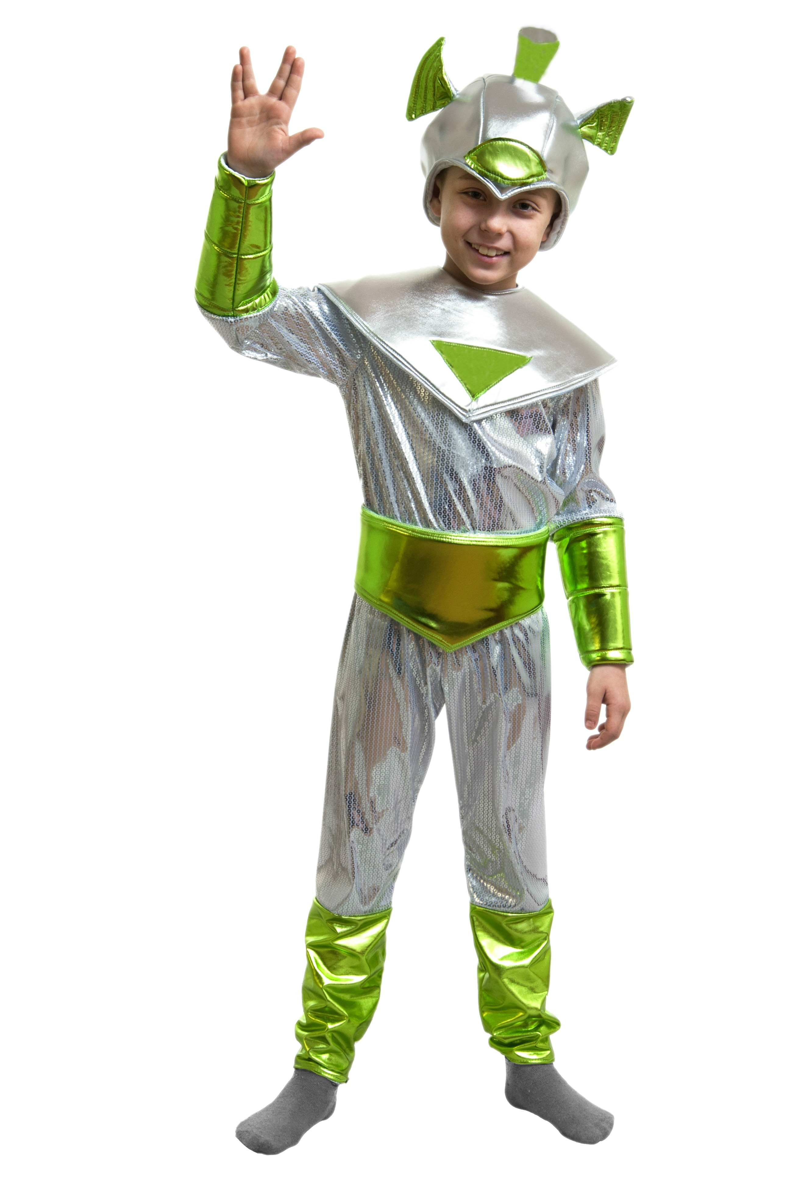 Детский костюм инопланетянина (34) костюм клоуна детский 34