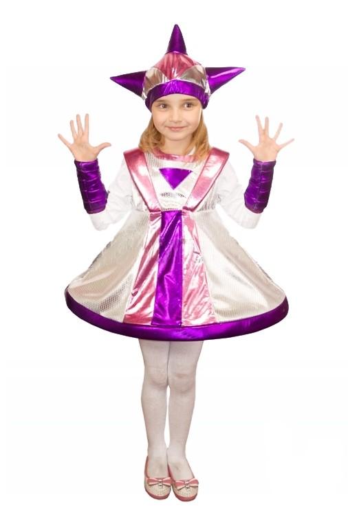 Детский костюм инопланетянки (30) - Нечистая сила, р.30