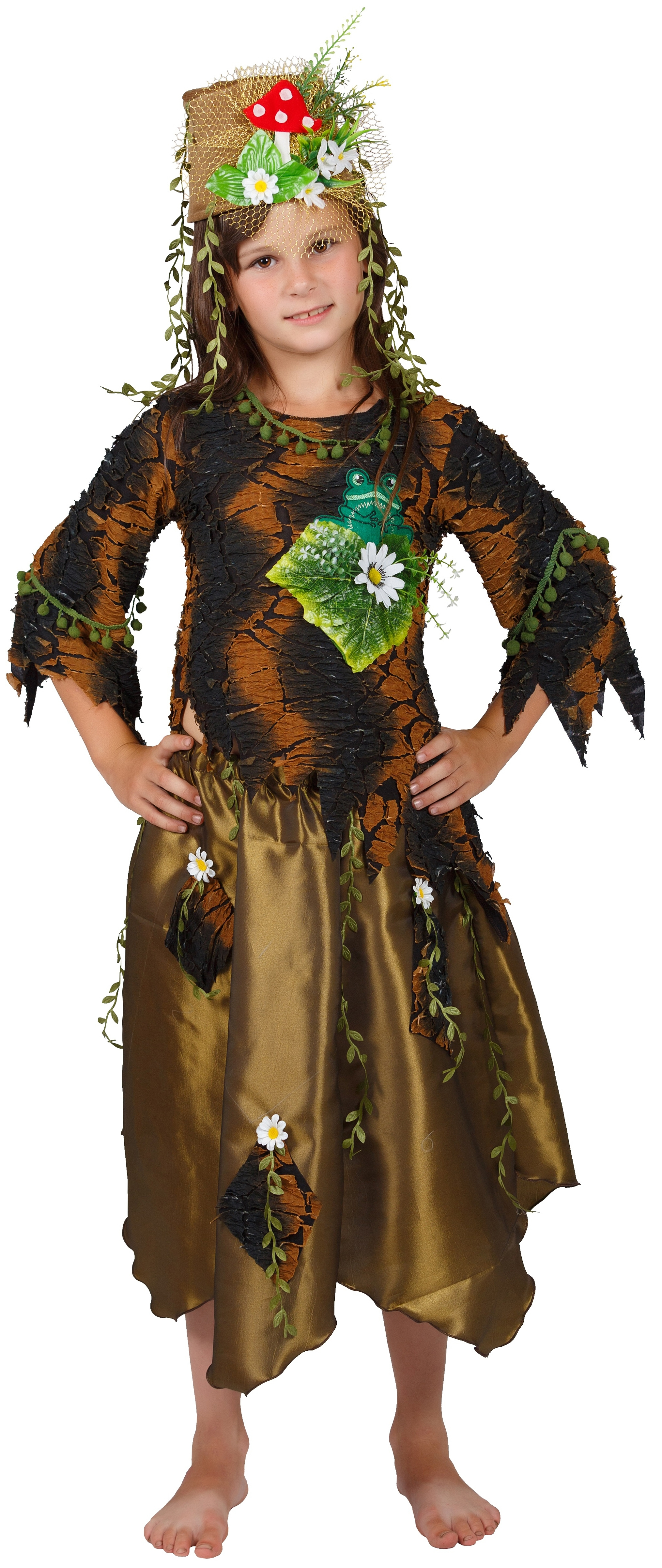 Новогодний костюм кикиморы болотной своими руками