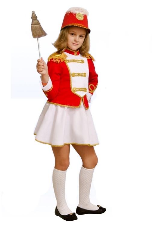 Детский костюм Мажоретки (34) детский костюм озорного клоуна 34