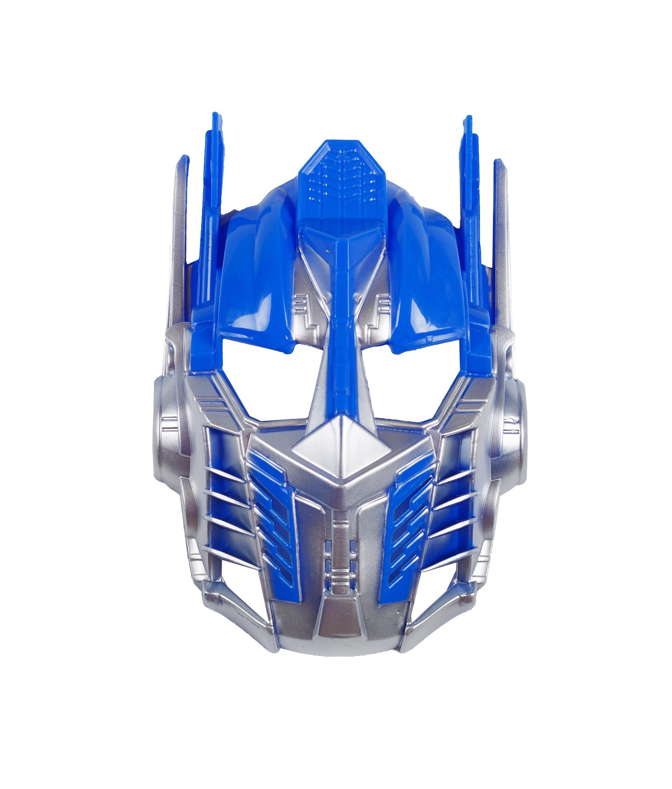 Синяя маска трансформер (UNI) плащ и маска штурмовик uni