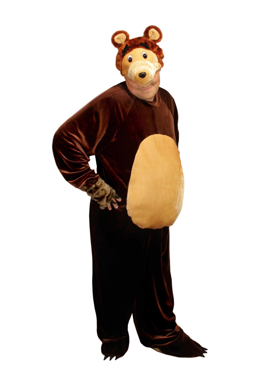Как сделать морду медведя ростовая кукла
