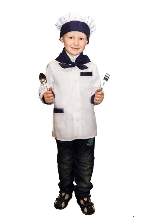 Костюм мальчика повара (28) - Униформа, р.28