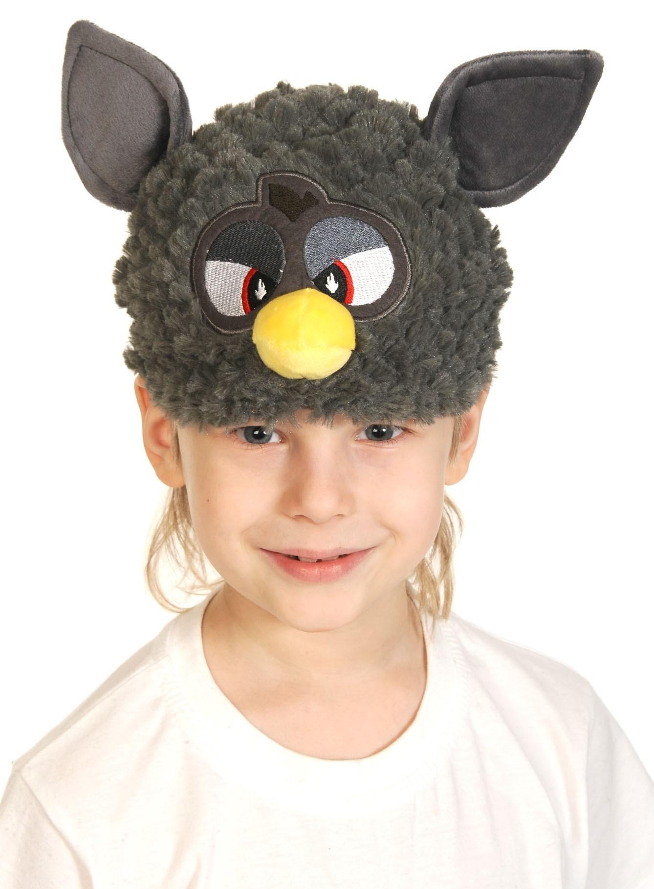 Серая шапочка-маска Ферби (UNI) шапочка маска ферби черная uni
