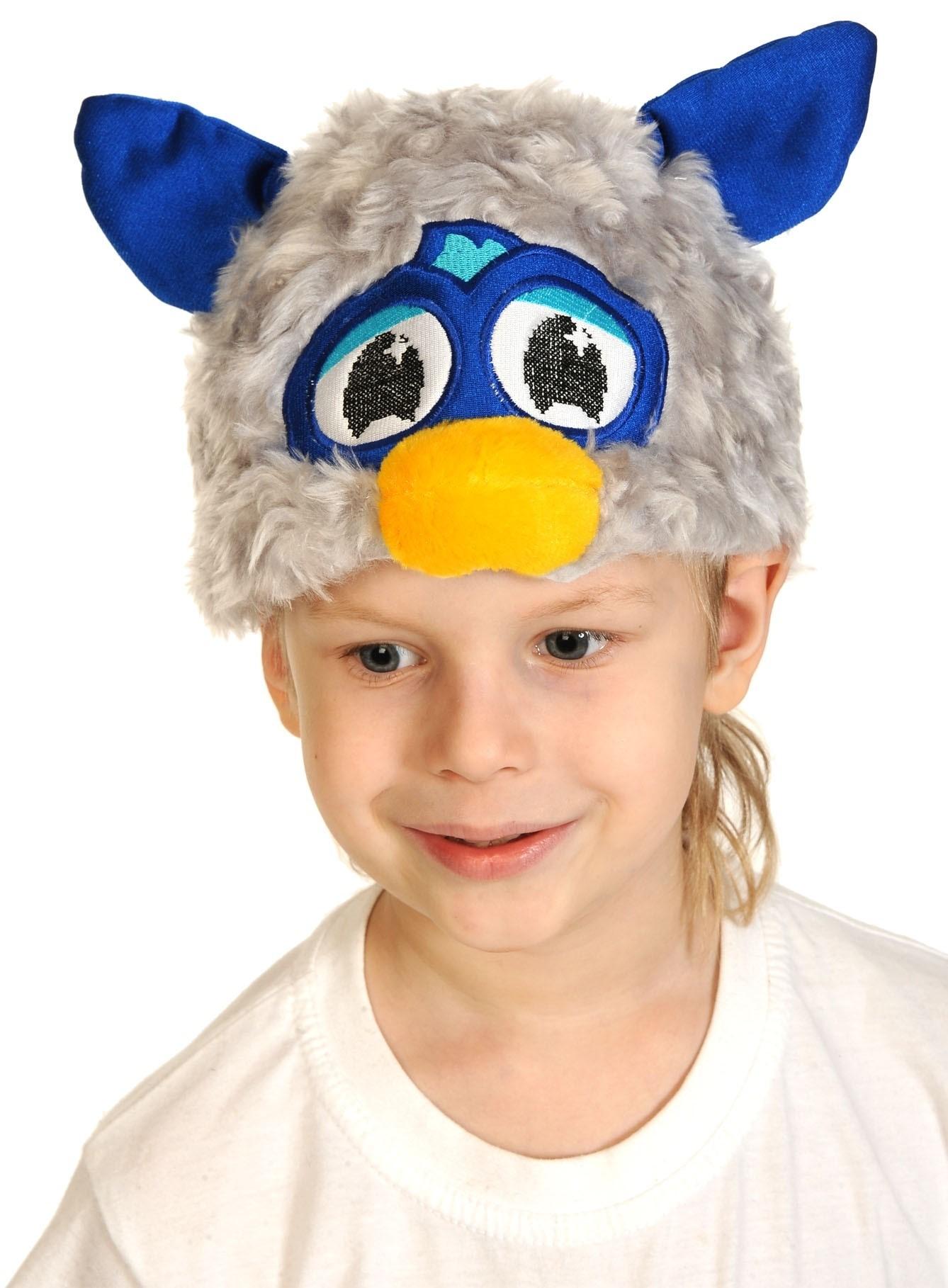 Шапочка-маска Ферби (UNI) плащ и маска черепашка ниндзя uni
