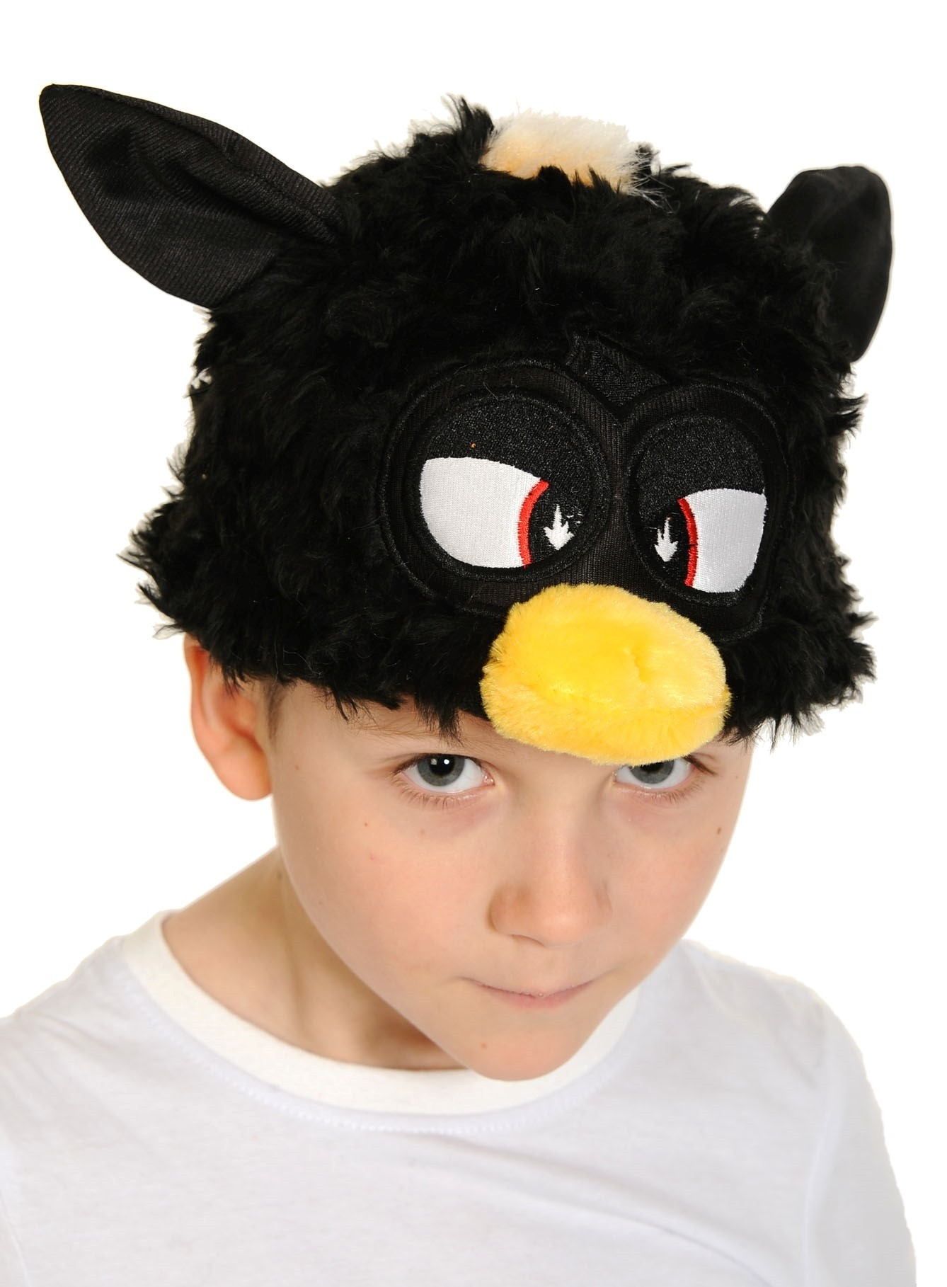 Шапочка-маска Ферби черная (UNI) плащ и маска штурмовик uni