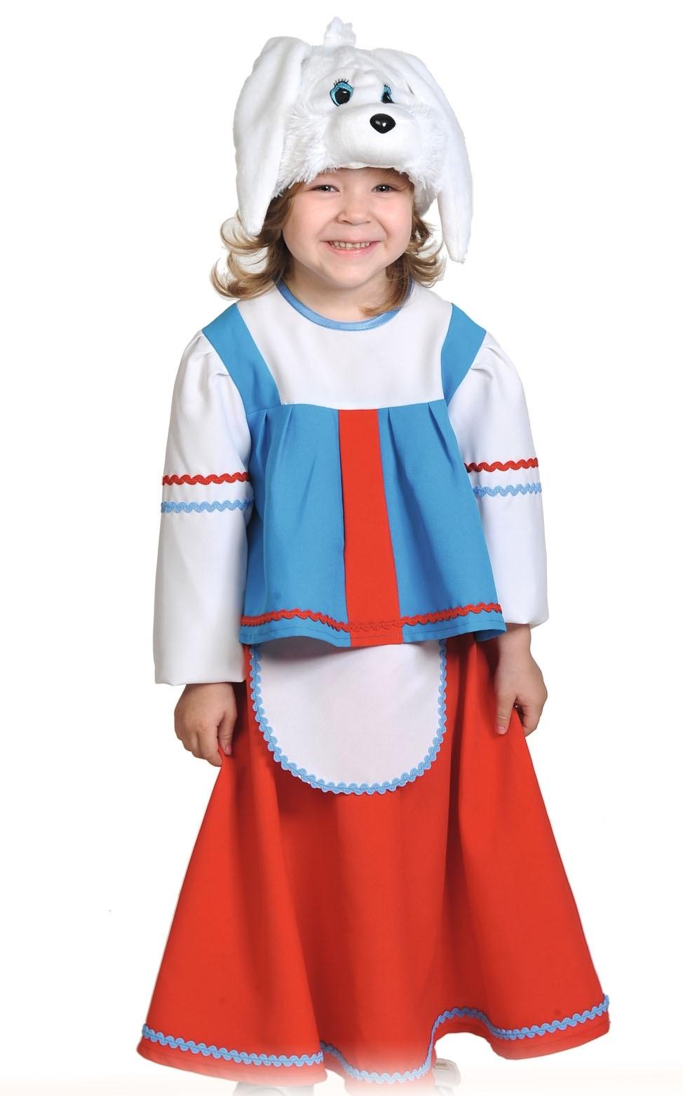цена Детский костюм Зайки Хозяйки (26-32) онлайн в 2017 году
