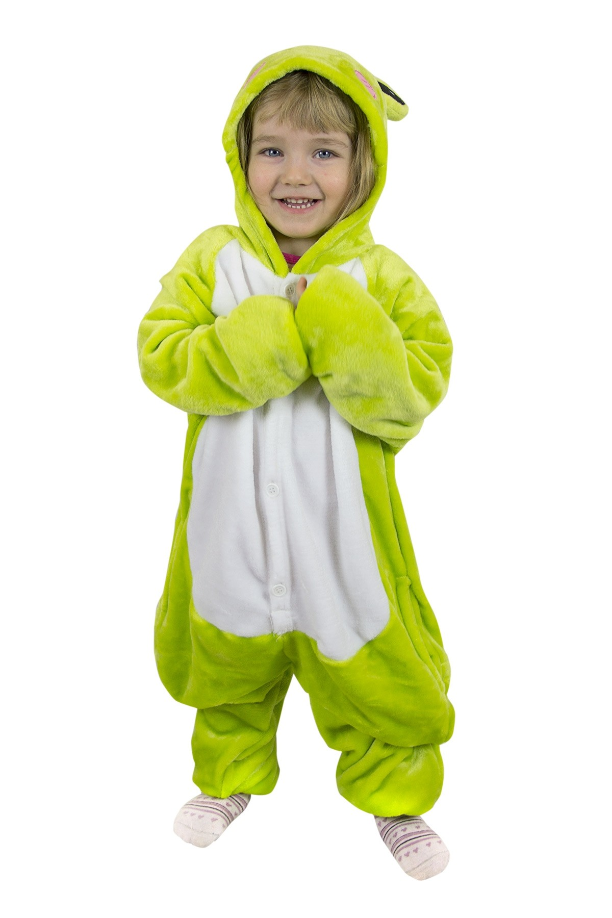 Детская пижама кигуруми Лягушка (26) кигуруми лось