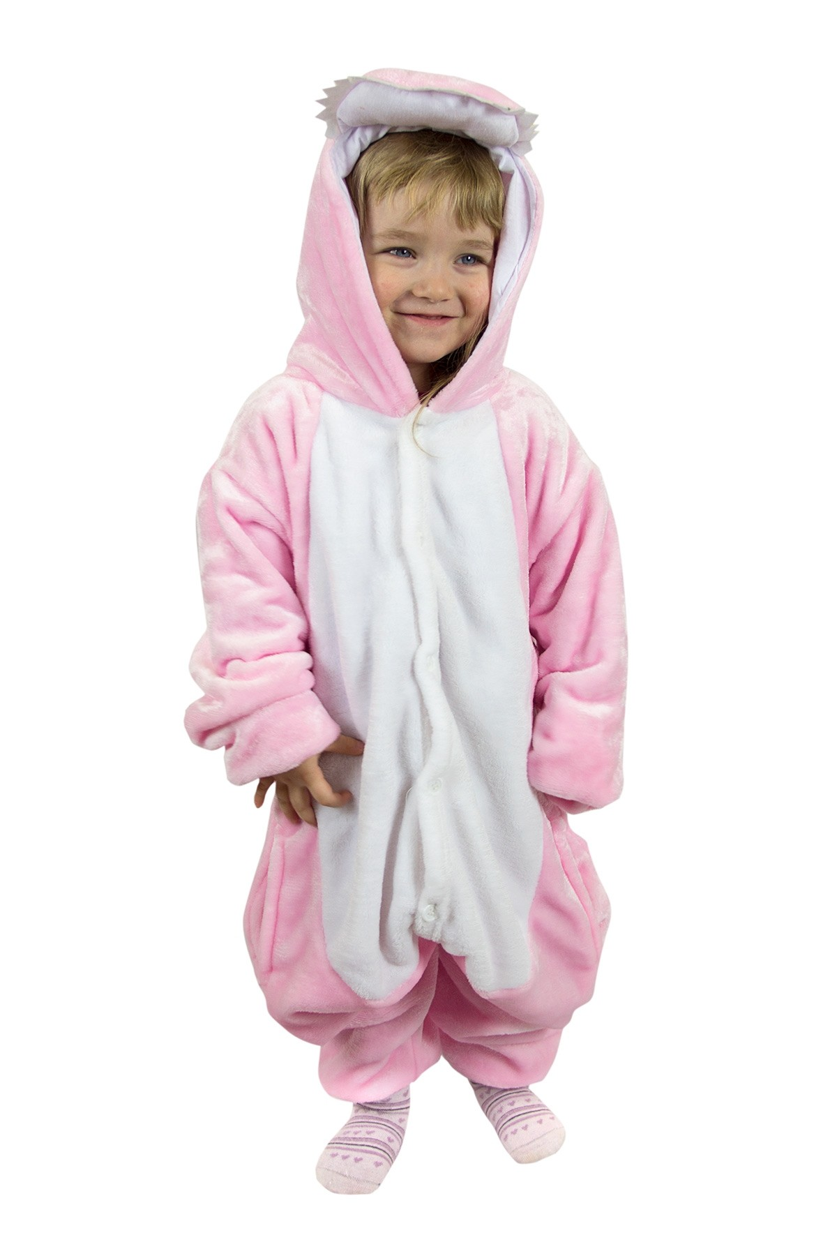 Детская пижама-кигуруми Дракоша (26) детская пижама кигуруми хрюшка 26