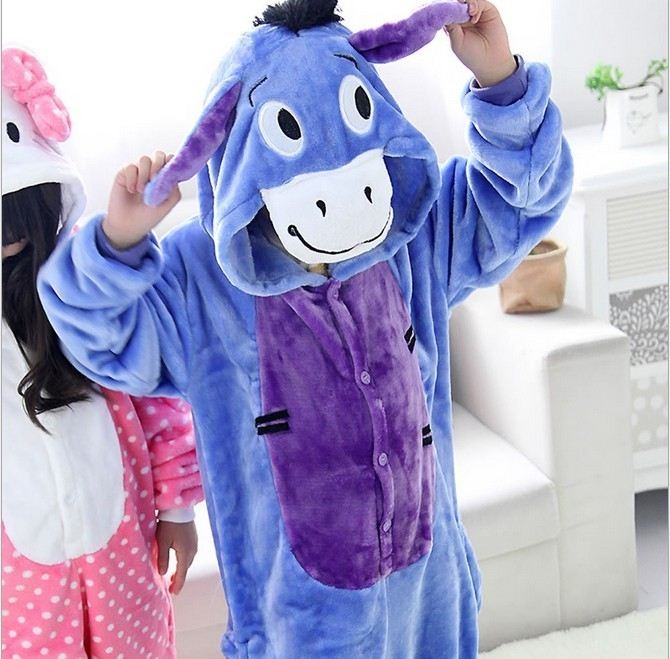 Детская пижама кигуруми Ослика (28)