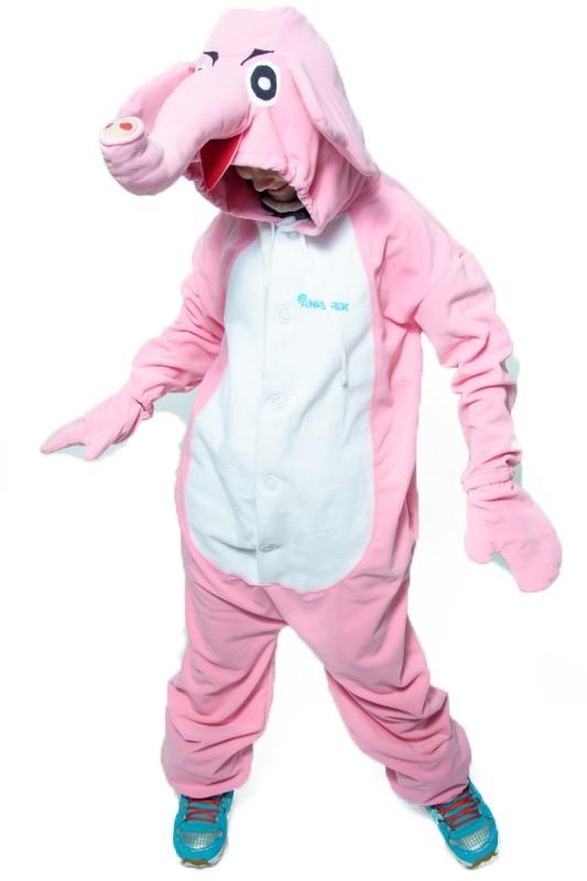 Кигуруми Розовый Слоник (S) - Кигуруми