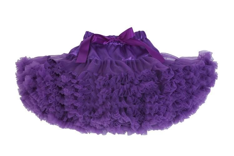 Фиолетовая юбочка Туту для малышей (44) - Подъюбники и юбки, р.44
