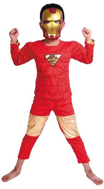 Детский костюм Айрон Мэна (32) детский костюм озорного клоуна 34