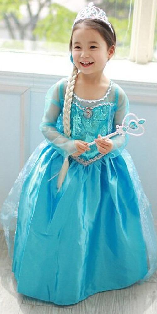 Детский костюм Эльзы Frozen (L) - Сказочные герои