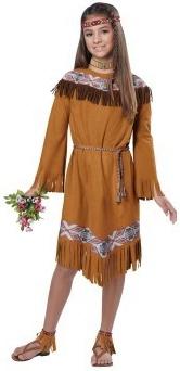 Детский костюм индейской принцессы (30-32) детский костюм принцессы авроры 34