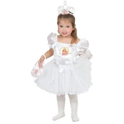 Белое платье Барби (22-24) сменный кен для барби