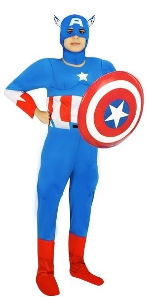 Детский костюм Капитана Америка (30) - Супергерои и комиксы, р.30