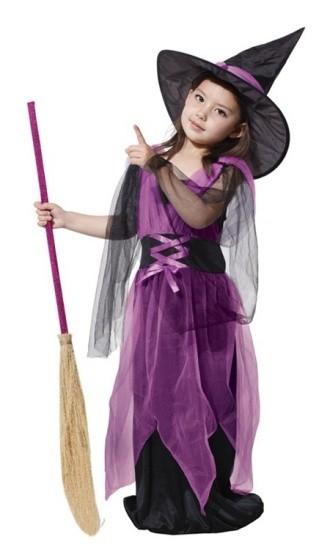 Детский костюм маленькой ведьмы (34-36) детский костюм репки 26 34
