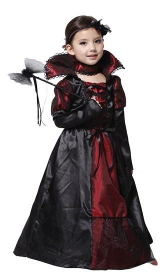 Детский костюм готичной вампирши (XL)
