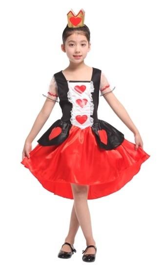 Детский костюм Королевы Сердец (30-32) детский костюм королевы
