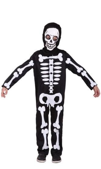 Купить со скидкой Детский костюм маленького скелета (28-30)