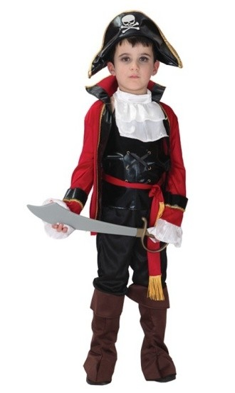 Детский костюм беспощадного пирата (34-36) детский костюм фиолетовой феи виндс 34