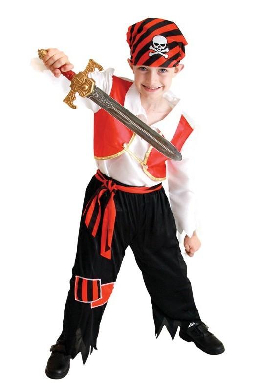 купить Детский костюм молодого пирата (34-36) недорого