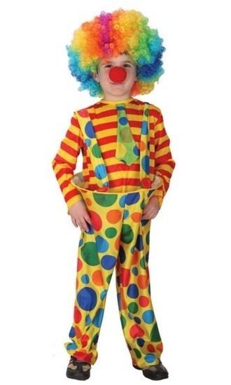 Детский костюм циркового клоуна (34-36) -  Юмор