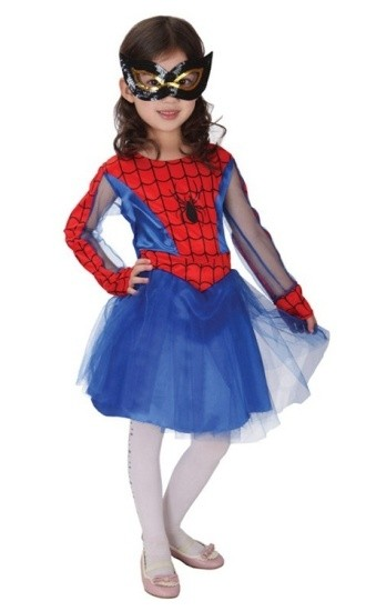 Детский костюм отважной Спайдергерл (S)