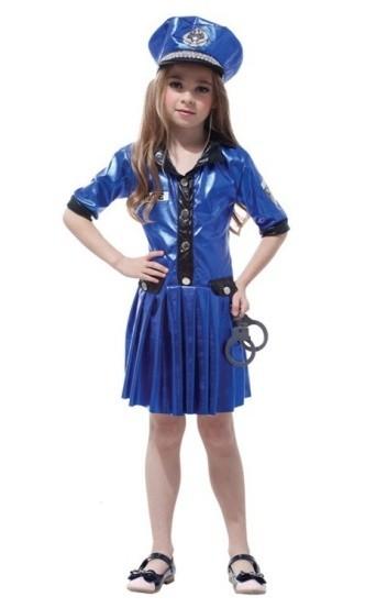 Детский костюм полицейской (34-36)