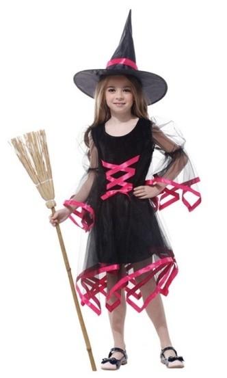 цены на Детский костюм ведьмочки розовый (34-36) в интернет-магазинах