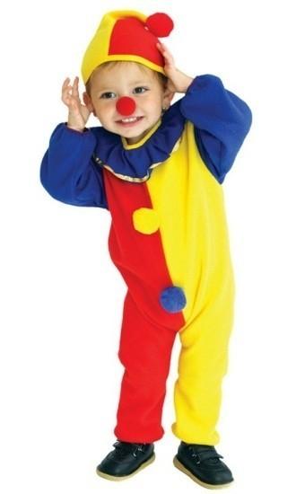 Детский костюм маленького клоуна (M) костюм клоуна в рязани