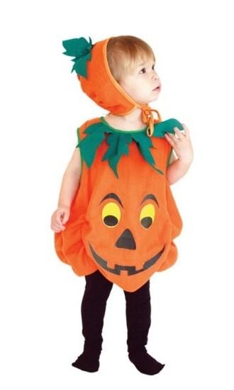 Детский костюм Тыквы (M) - Аксессуары на Хэллоуин