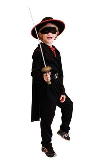 Детский костюм бесстрашного Зорро (34-36) детский костюм фиолетовой феи виндс 34