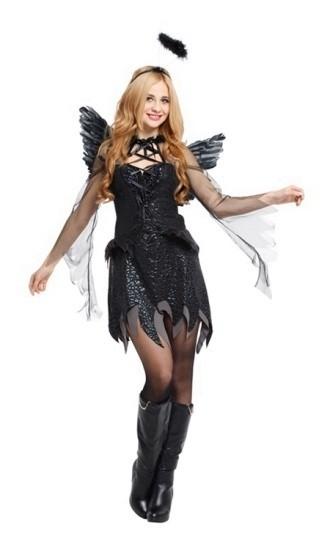 Костюм блистающего падшего ангела (42-44) -  Ангелочки и ангелы