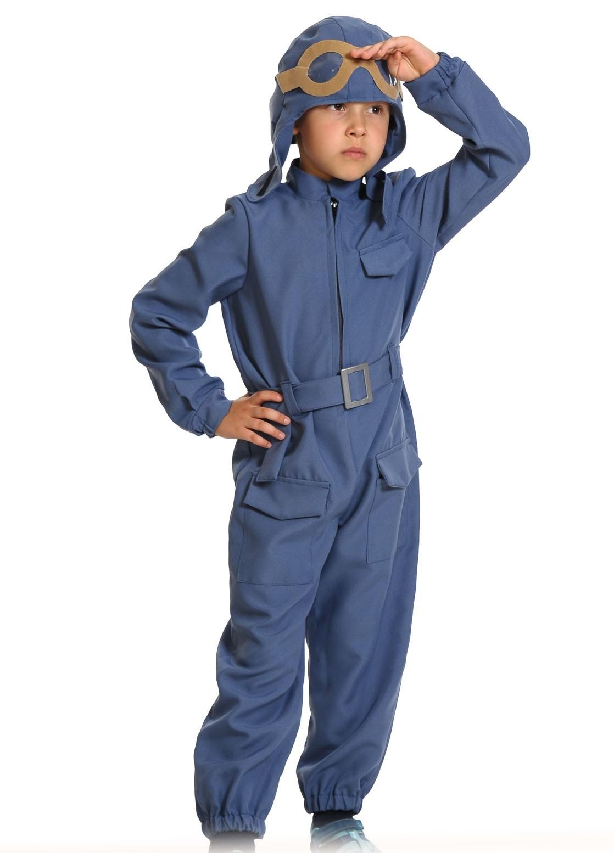Детский костюм летчика (L) купить шлем летчика в минске