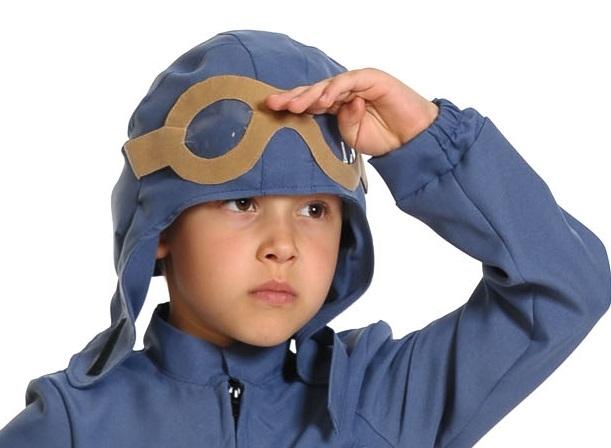 Детский шлем летчика (UNI) -  Исторические костюмы