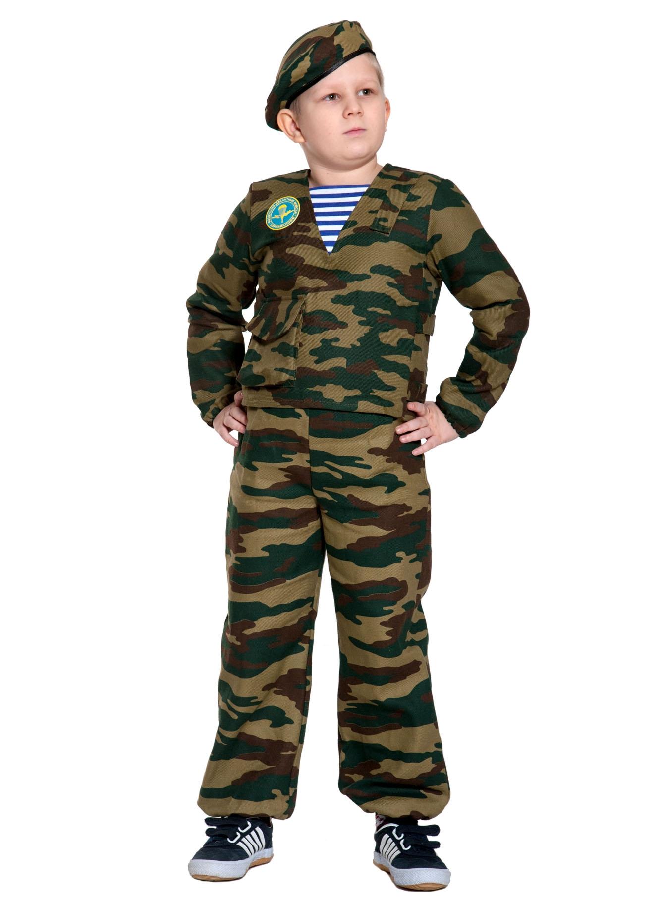 Детский костюм солдата-десантника (32-34) детский костюм джульетты 32 34