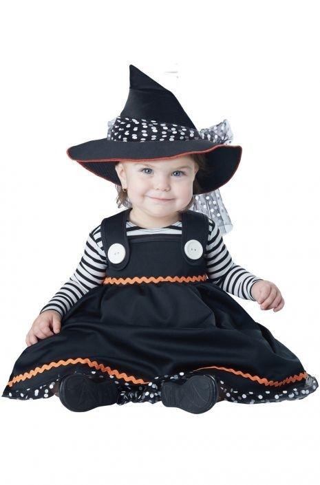 Костюм милой ведьмочки для малышей (26) -  Ведьмы и колдуны