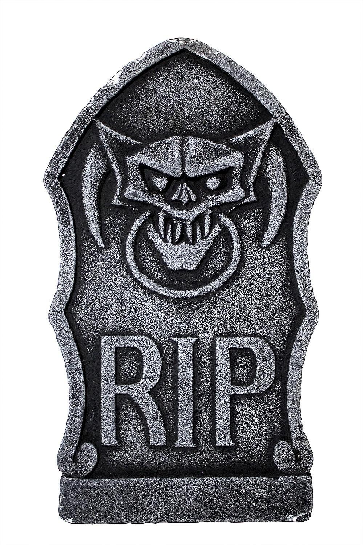 Надгробие серое с вампиром (UNI) диляра шкурко серое прозрачное в крапинку