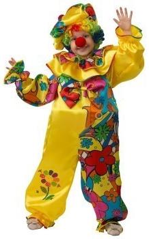 Детский костюм сказочного клоуна (30) детский костюм клоуна весельчака 38