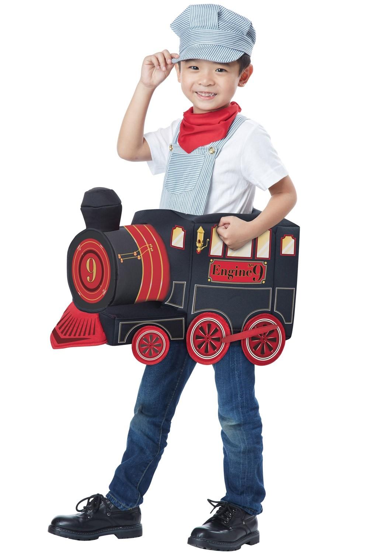 Детский костюм машиниста паровоза (M)