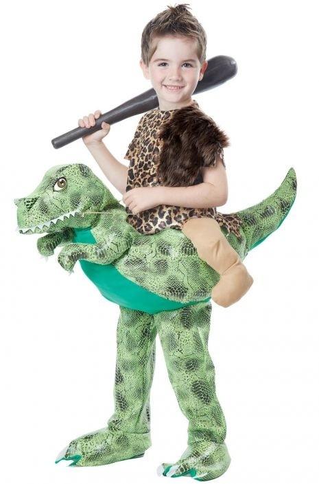 Детский костюм наездника на динозавре (M) - Сказочные герои